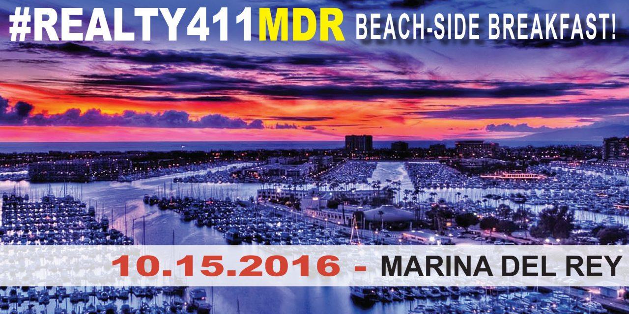 Realty411's California Investor Beach-side Expo & Forum Indoor/Outdoor Networking + BREAKFAST!
