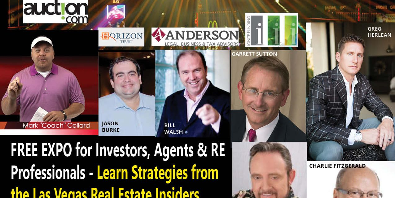 Las Vegas Real Estate Expo – Join Us for Networking, Education and Motivation