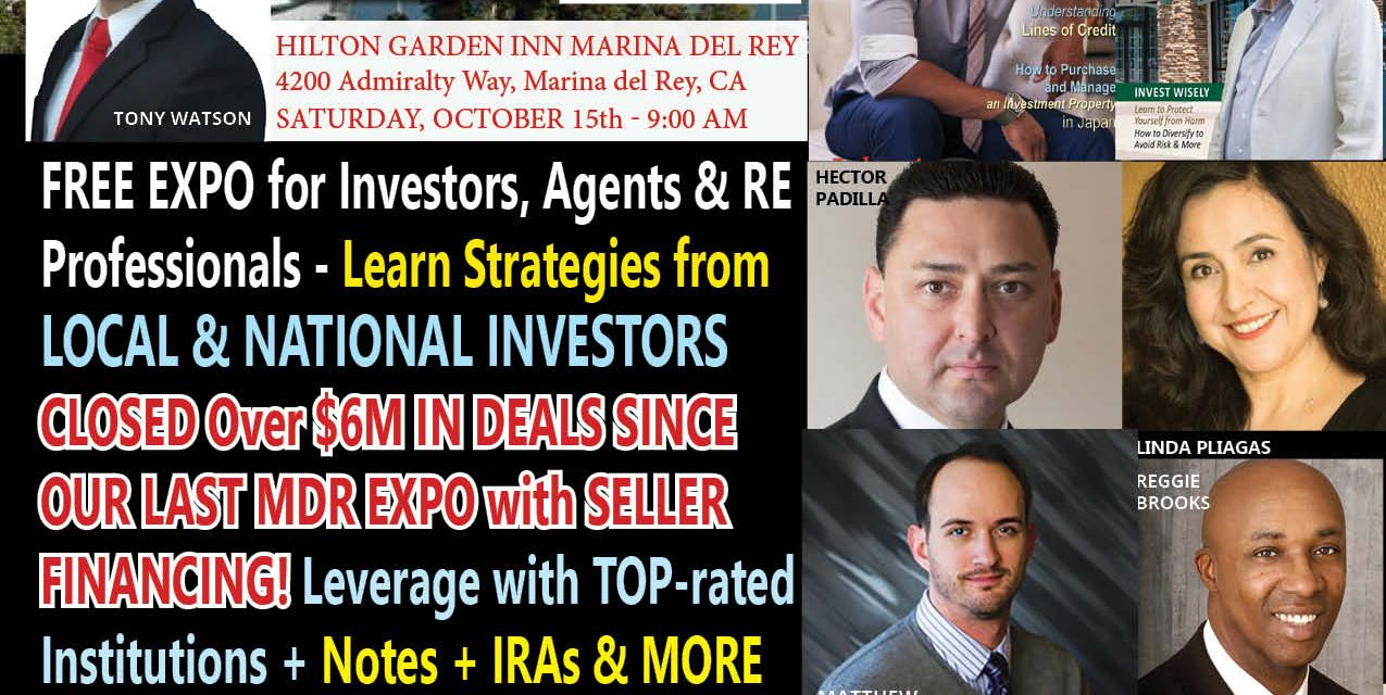 California Investors Unite in Marina – BREAKFAST BY THE BEACH EXPO