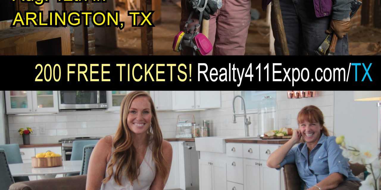 Limited Complimentary Tickets – Meet the Flipping Mother & Daughter Duo from HGTV's GOOD BONES