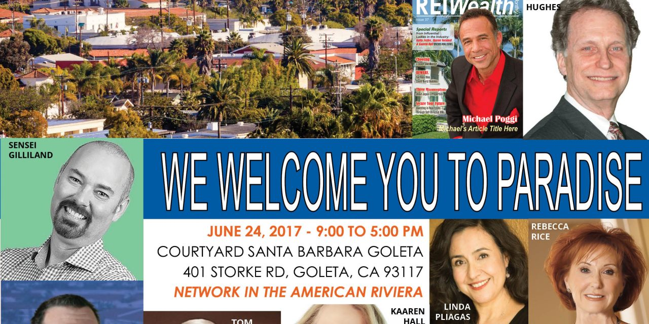 RSVP for Our Santa Barbara Conference with SB REIA – Welcome to Paradise.