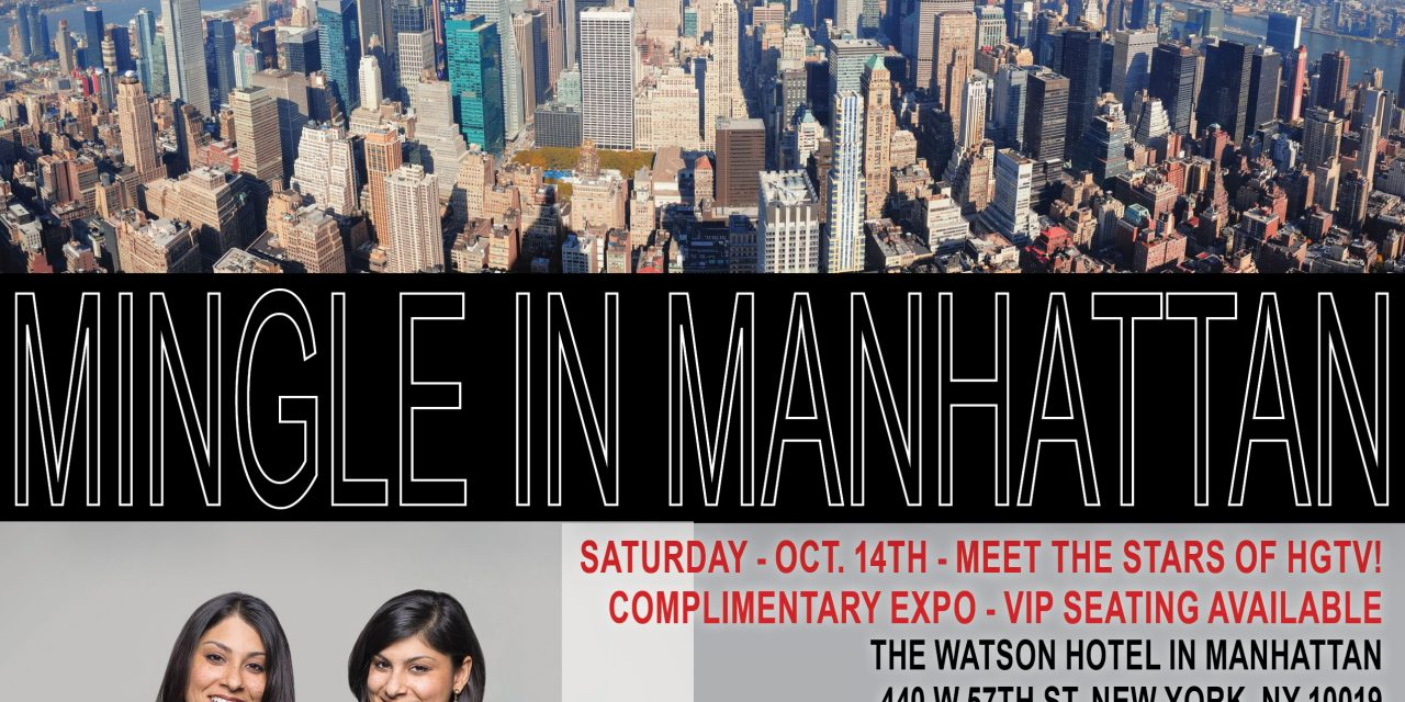 Join Us for Our Expo in Manhattan Saturday, Oct. 14th – Download Our Schedule.