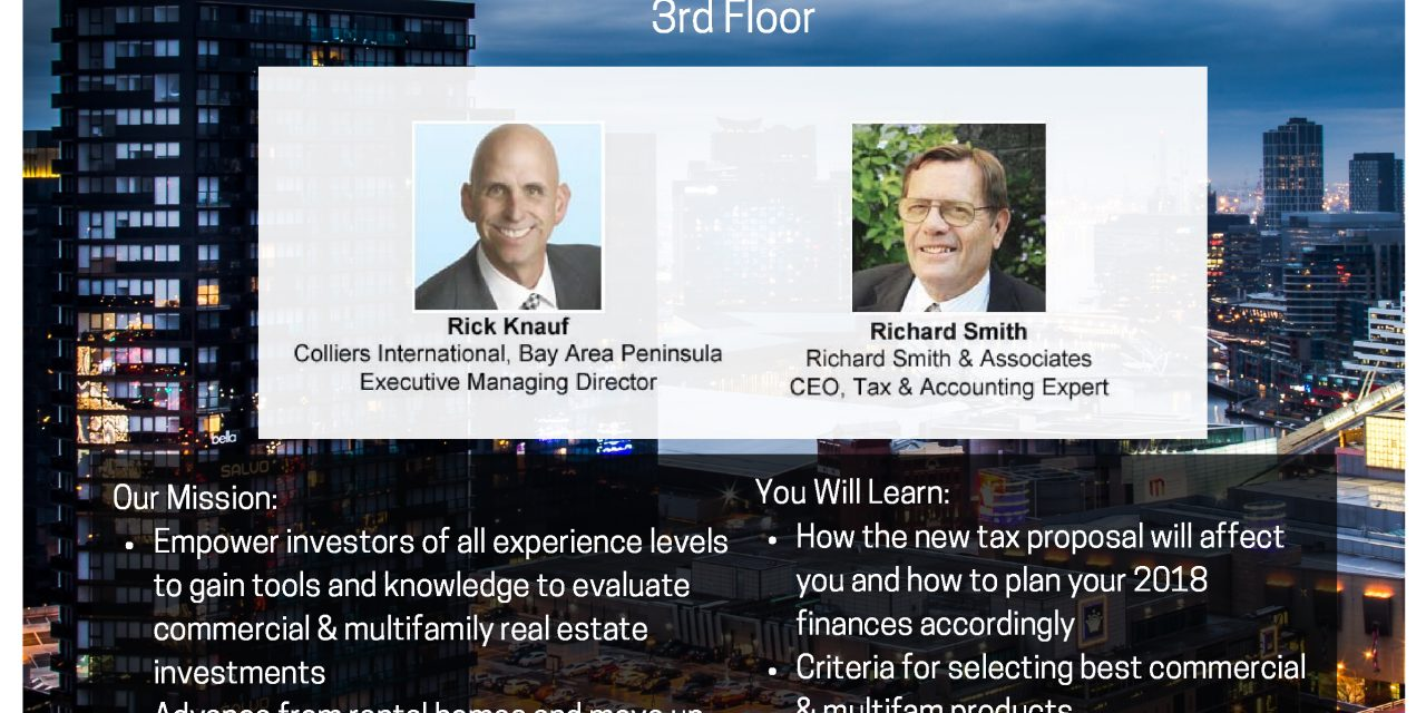 Announcing Launch of the Bay Area Commercial & Multifamily Real Estate Investment Club