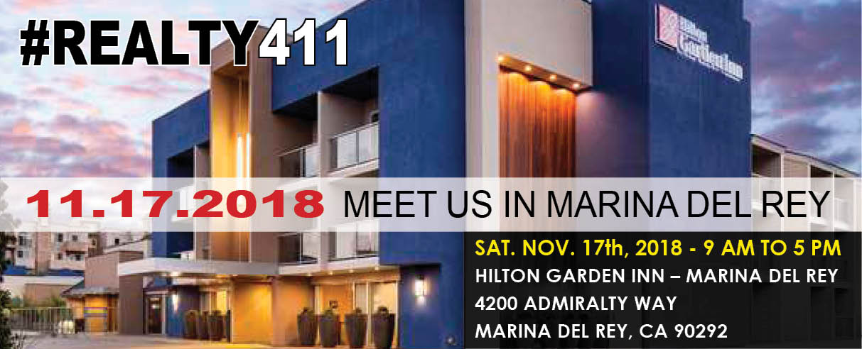 RSVP to Our Marina del Rey Investor's Expo and Conference
