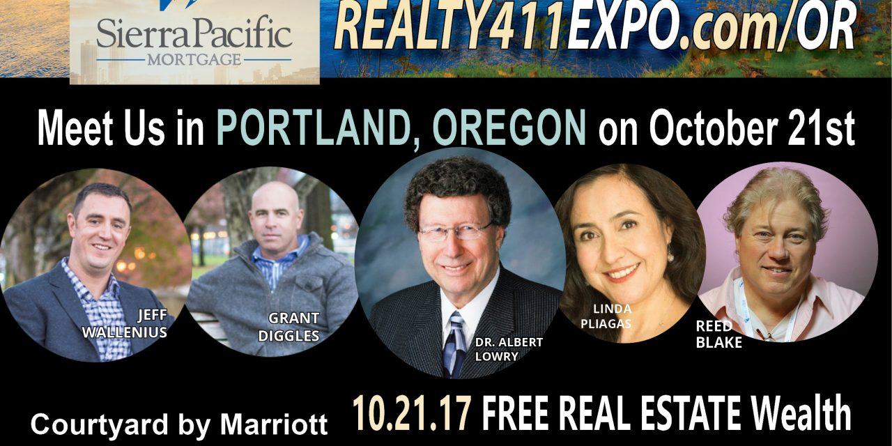 Oregon Real Estate Investor's Conference – Join Us this Saturday