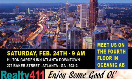 Join Us this Saturday in Atlanta, Georgia – LEARN MORE HERE!