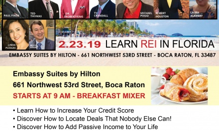 Learn Wealth-Building Strategies in South Florida this Saturday