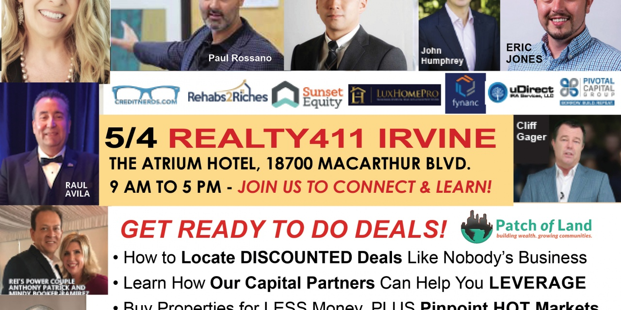 Realty411's Investor Expo in Irvine Unites Sophisticated Investors and Exceptional Companies