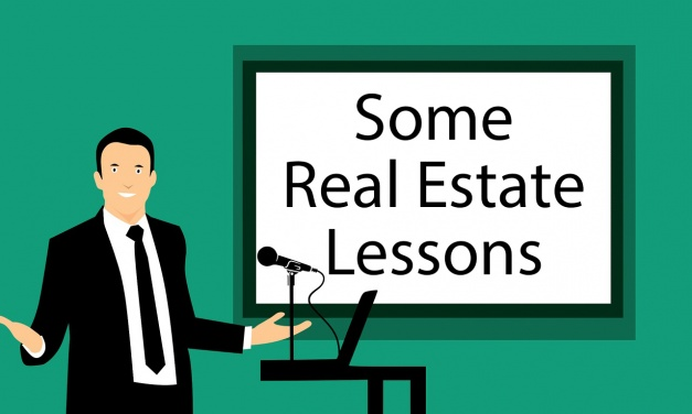 Some Real Estate Lessons