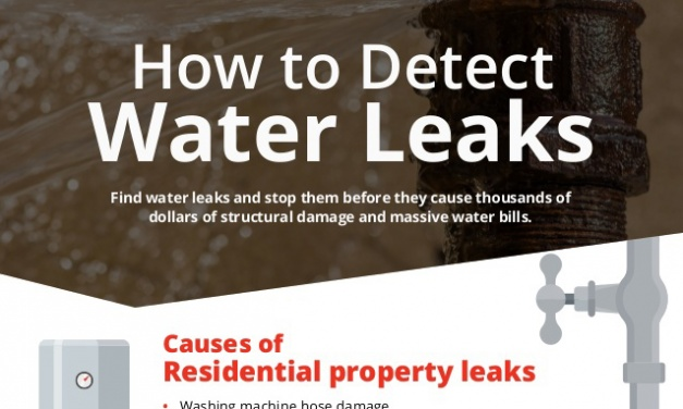 Prevent a Small Leak from Turning into a Big Flood