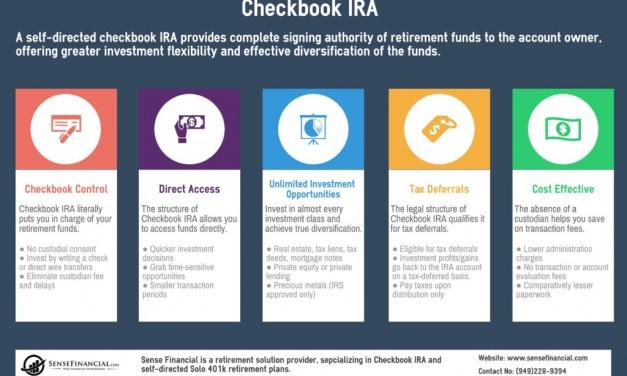 Checkbook IRA Infographic: Understanding Its Benefits