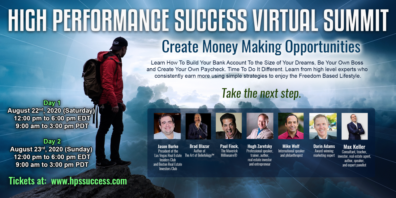 High Performance Success  Virtual Summit