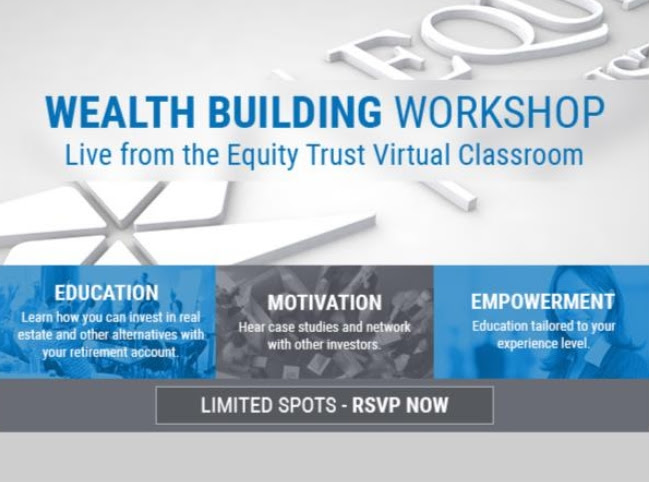 Wealth Building Workshop coming to your living room!