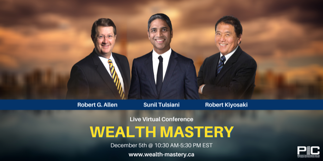 VIRTUAL EXPO BONUS: Learn from Allen, Tulsiani & Kiyosaki too — $197 Value.