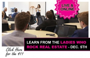 Learn from the LADIES Who ROCK Real Estate - PLUS, Join Our Investor Groups @ Virtual -- Online
