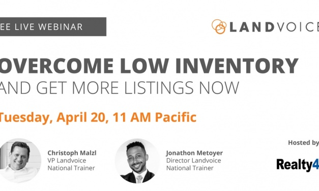 How to Overcome Low Inventory and Get More Listings