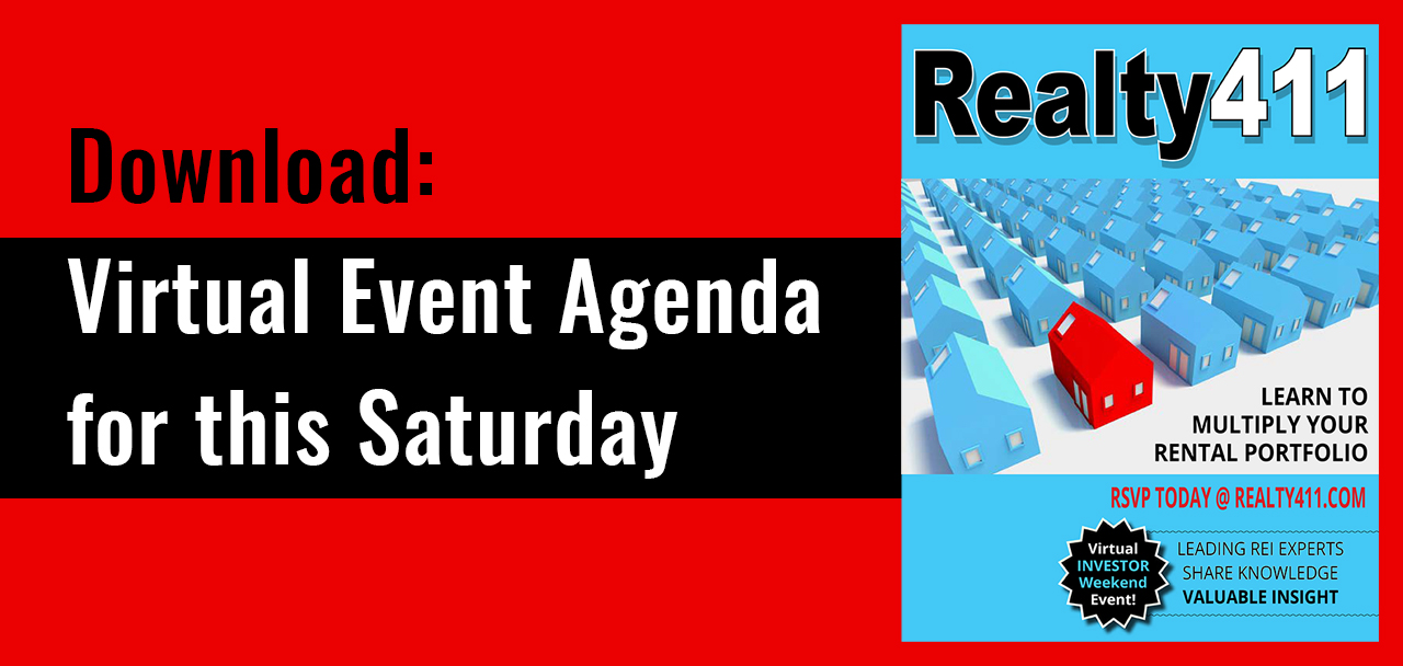 Download: Virtual Event Agenda for this Saturday